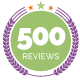 500 Reviews on Netgalley