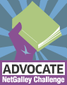 Advocate NetGalley Challange badge